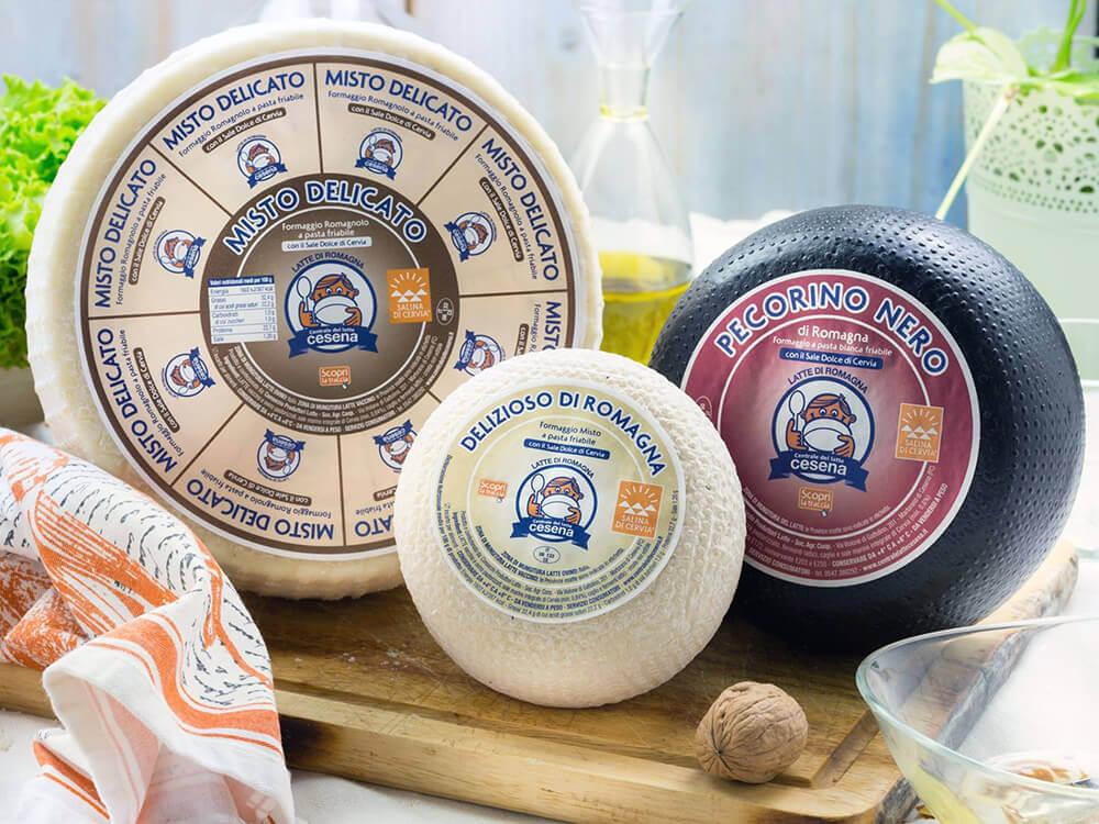 I formaggi della Romagna, Centrale del latte di Cesena