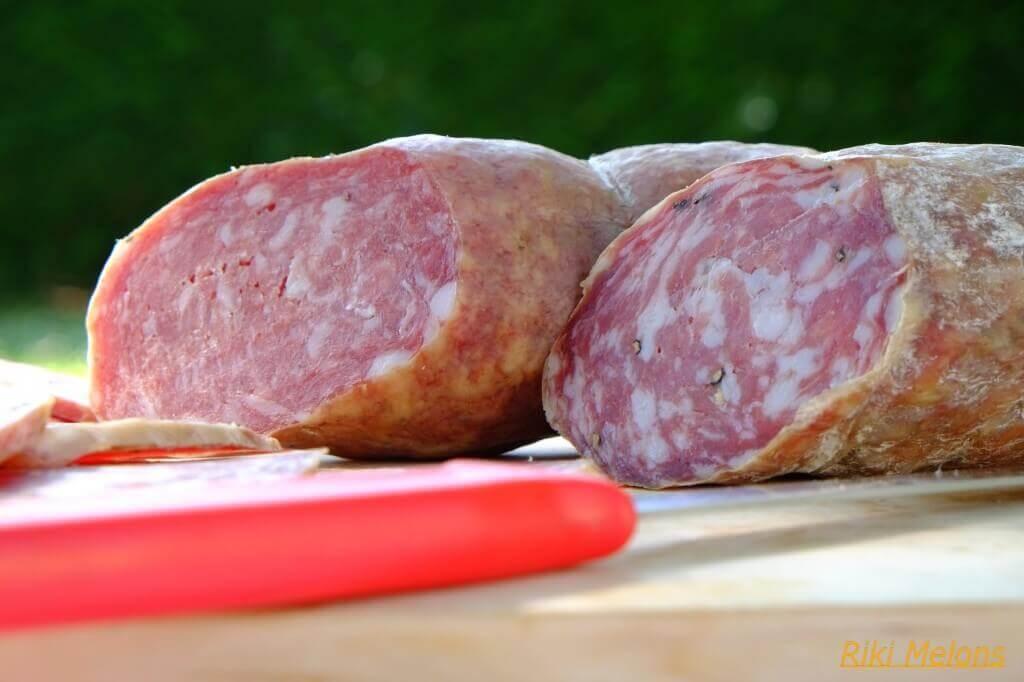 Salame all'aglio ferrarese di Borgonovo Mercato Alimentare